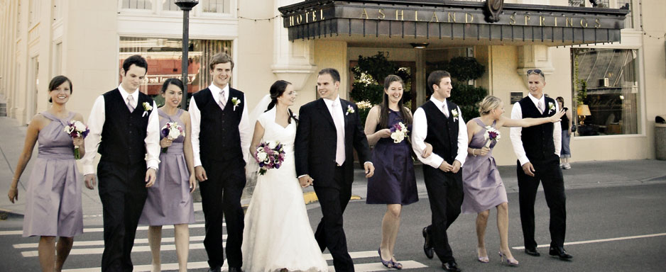 Wedding Party At Ashland Springs Hotel