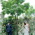 Weddings - Couple in Garden