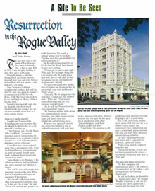 Resurrection in the Rogue Valley