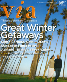 VIA, The AAA Traveler's Companion - February 2006