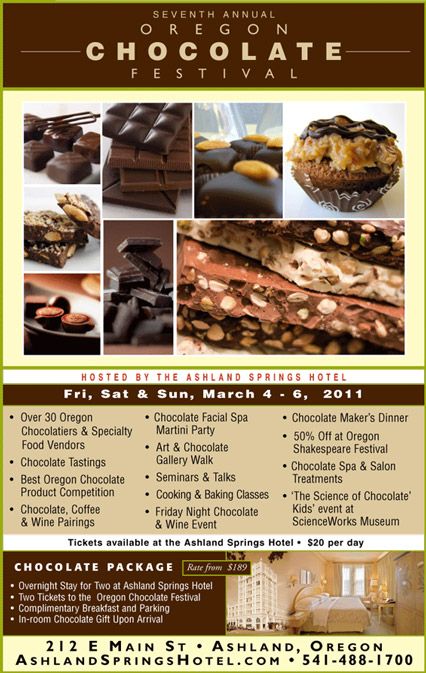 2011 Oregon Chocolate Festival Poster