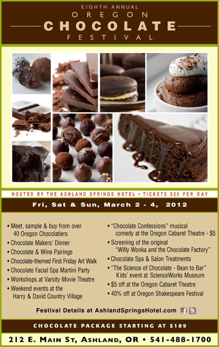 Oregon Chocolate Festival 2012 - Poster