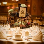 Table setting in the Grand Ballroom