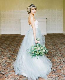 Green Wedding Shoes - Romantic Parisian Bridal Inspiration