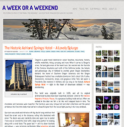 weekend website
