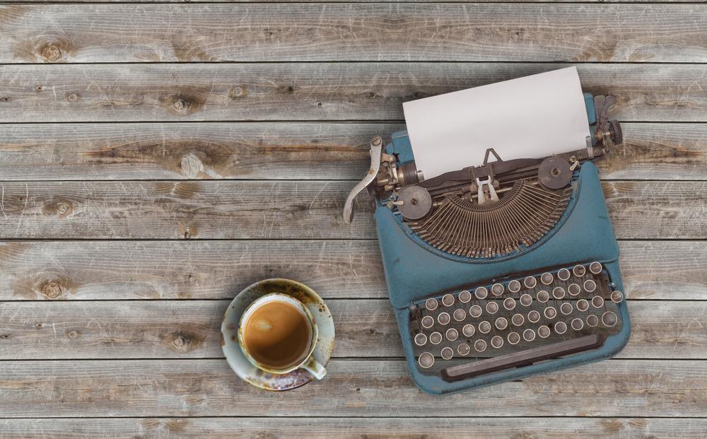 typewriter ASH