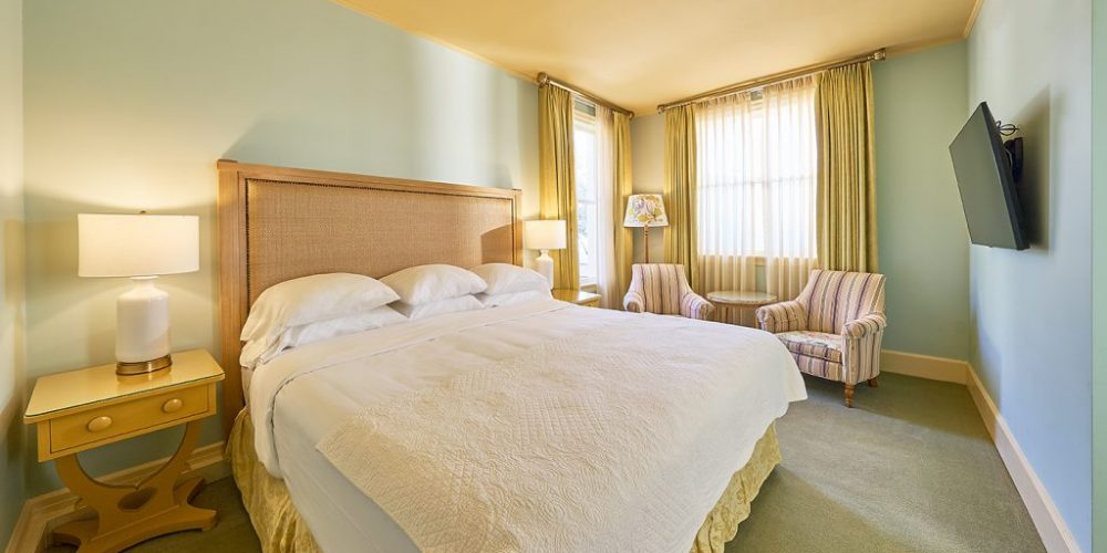 Located at the 3rd floor, it comprises of a beautifully appointed deluxe bedroom with one king size bed and a charming living room, which include cozy sitting area with sofa bed and one armchair.View Room