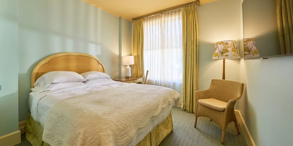 This is a truly European boutique style room that can accommodate up to two guests within its cozy, sophisticated accommodations. Rooms primarily located on our third and fourth floors.View Room